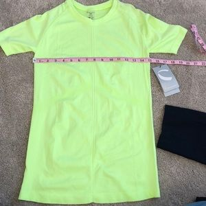 Climawear M Safety Green Workout Too NWT